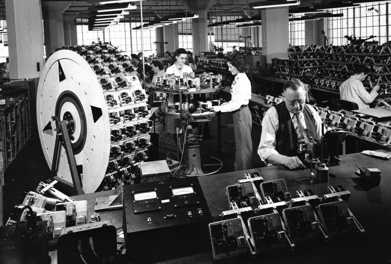 Honeywell relay Department, circa 1930