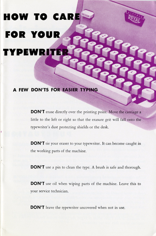 How to Care for your Typewriter.jpg