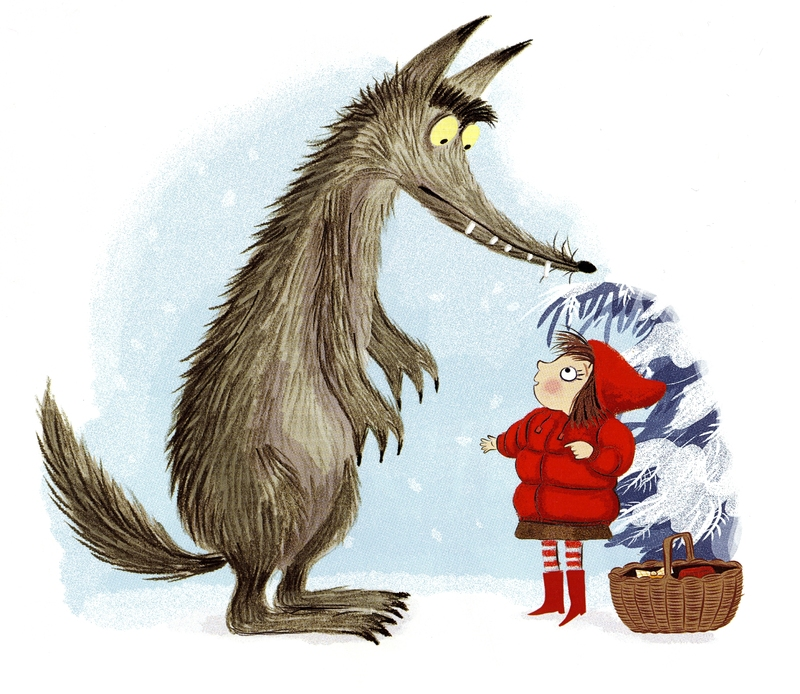 LRRH meets the wolf (Eastland/Koster)