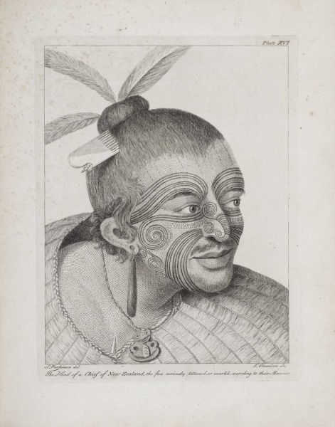 Head of a Chief of New Zealand