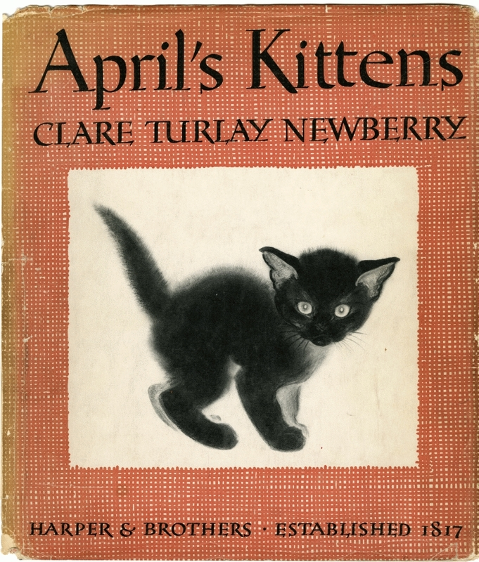 Clare Turlay Newberry cover (click again)