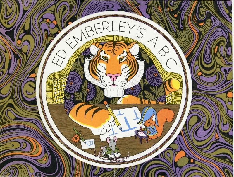 Ed Emberley cover (click again)