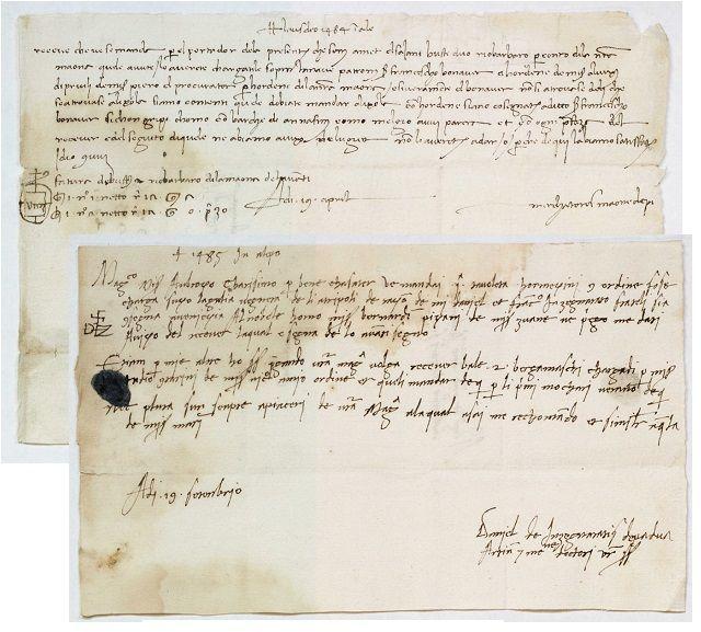 Aleppo correspondence
