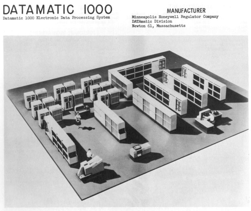 Datamatic 1000, circa 1960