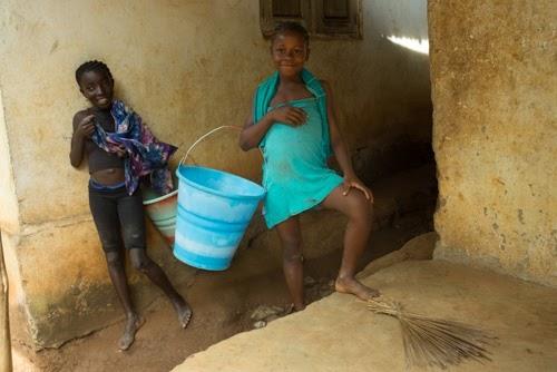 23 Photo21, Girls carrying water buckets, Tikonko Chiefdom, Sierra Leone, 2017 (1).jpg