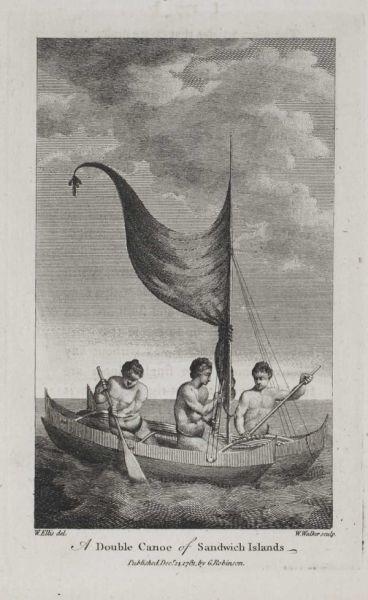 A Double Canoe of Sandwich Islands