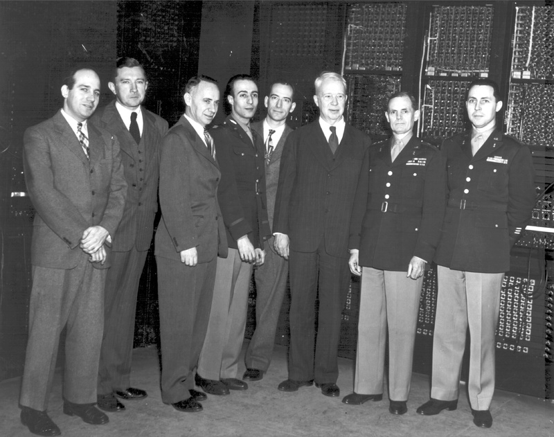 Military Officials and Men of the ENIAC Team