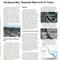 The National Map: Topographic Maps for the 21st Century