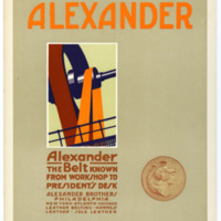 Alexander: Alexander the Belt Known from Workshop to President's Desk