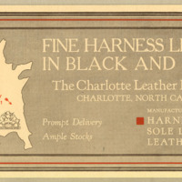 Fine Harness Leather in Black and Russet