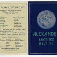 Alexander Distribution: Alexander Leather Belting